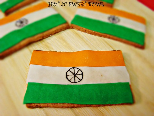 Indian Flag Cookies