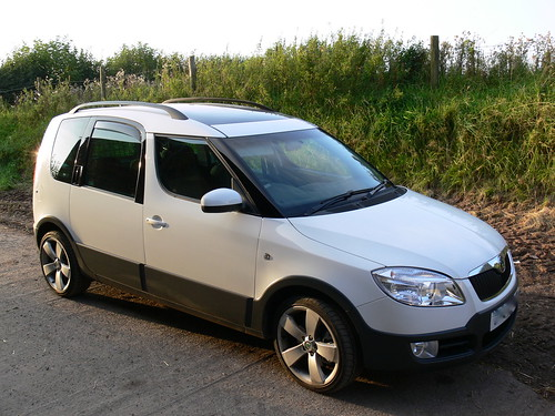 2007 Skoda Roomster Scout Automotive News