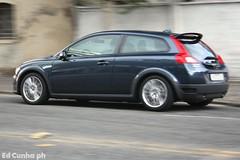 Volvo C30 (Ed Cunha Ph) Tags: blue brazil car brasil digital canon rebel volvo kiss curitiba f carros mm 1855 35 efs coches 56 xsi x2 c30 canonefs1855mmf3556 450d