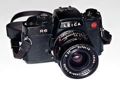 Leica R6 | This is my new toy, the Leica R6. Or the R6, as I… | Flickr