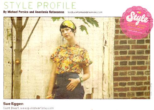 Philadelphia Weekly Style Profile