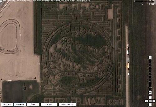 Fritzler Corn Field Maze