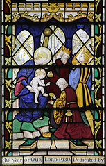 Adoration of the Magi (Comper)