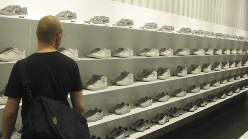 Boris at the Nike concept store