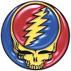 Grateful Dead Steal Your Face - gold