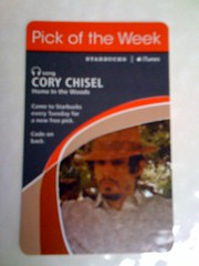 Starbucks iTunes Pick of the Week - Cory Chisel - Home in the Woods