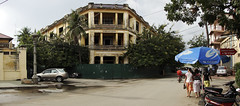 A street corner in Phnom Penh