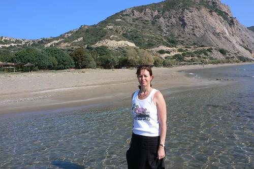 Dafni beach on Zakynthos
