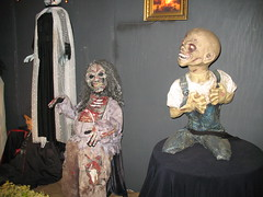 Messed up Chucky looking doll! (darth_meza) Tags: house halloween mannequins haunted creepy bloody corpse