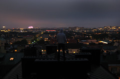 R.I.P Daffy - Stockholm Rooftops (gixo) Tags: city urban night peace view rooftops sweden stockholm rip climbing rest in