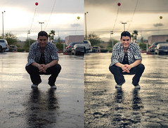 Before & After (Espinal Photography) Tags: wet photoshop fix lasvegas nikond50 processing socrates beforeafter mojado espinal procesado antesdespues
