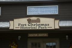 Fort Christmas Entrance