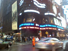 Times Square crawlers (Dan_DC) Tags: timessquare newyork nyc manhattan midtown newyorkcity billboards crawlers advertising outdooradvertising city urban street traffic crowds people pedestrians crossroads urbanscene driving editorial license rf royaltyfree flatfee imagebank stock cars automobiles carculture fourthestate coveringnews reporting journalism newsmedia freespeech firstamendment news entertainment trophyaddress prestige gaudy