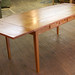 Schweb 6' Dining Table in Bookmatched, Reclaimed Pine