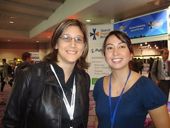 Susan Esparza and Rebecca Kelley