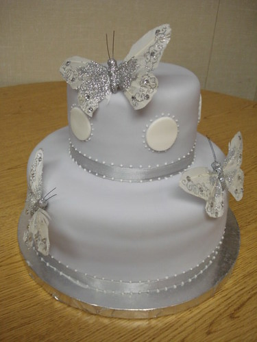 baby shower cake ideas for girls. Lavendar Butterfly aby shower