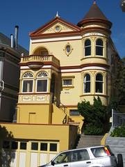 Schnes Haus im vikorianischen Stil (bigweasel) Tags: sf california ca usa san francisco im urlaub day20 kalifornien schne huser stil tag20 usa2008 vikorianischen