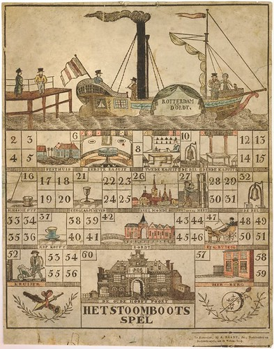 Het Stoomboots  Spel (1810-1825)