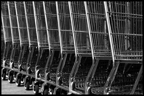 shopping cart, by flickr & bitchplz