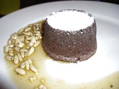 El Coulant Presentado (El Laboratorio Gastronmico) Tags: food chocolate comida chocolat soufle receta sufle sufl coulant soufl