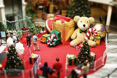 Photo with Santa (chrisglass) Tags: santa christmas holiday tiltshift daytonmall