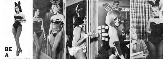 Some of the Playboy bunnies in the old days