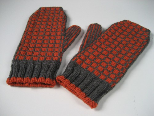 Matrix Mittens: outside