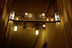 prag stadthaus Jugendstillampen