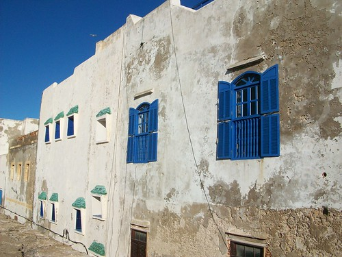 White and blue - the colors of Essouira