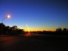Azul (Claudio Marcon) Tags: blue brazil sky argentina azul brasil sunrise lights path bridges céu amanecer cielo puentes luzes cielos vanishing caminhos rs pontes riograndedosul amanhecer rutas azules estradas claudiomarcon claudiolmarconribeiro