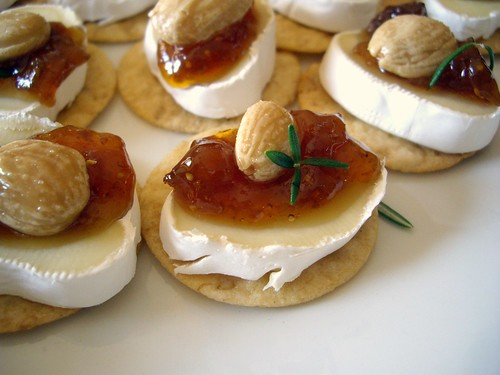 Little Brie Fig Bites