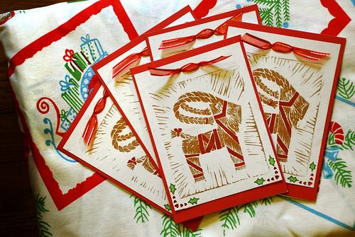 Julbock Cards