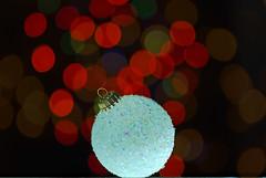 Holiday circles #Flickr12Days (James Jordan) Tags: christmas light color bulb lights bokeh ornament colored flickr12days