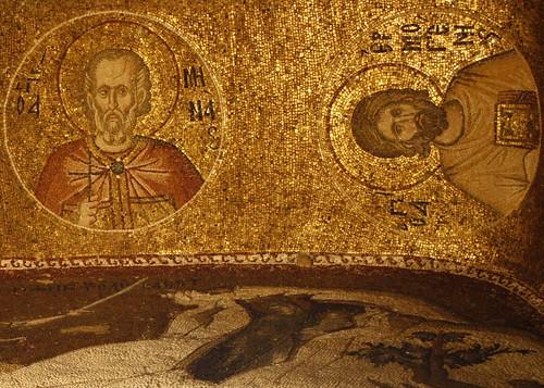 Mosaics at Kariye