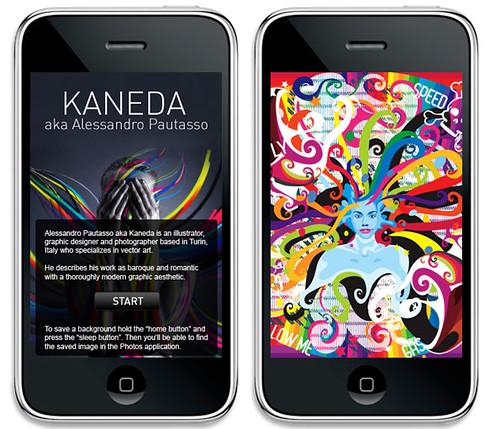 Kaneda - Art for iPhone