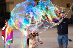 Bubbles in Krakow (morten almqvist) Tags: krakow m42 135mm carlzeiss sd14