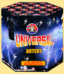 EPIC FIREWORKS - Universal ARTERY (EpicFireworks) Tags: cake panda fireworks firework artery universal pyro epic barrage pyrotechnics sib epicfireworks