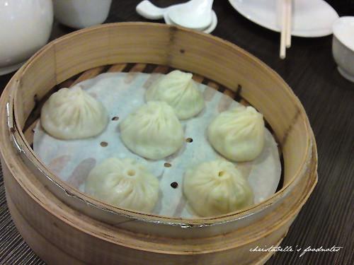 上海滬園湯包館絲瓜湯包