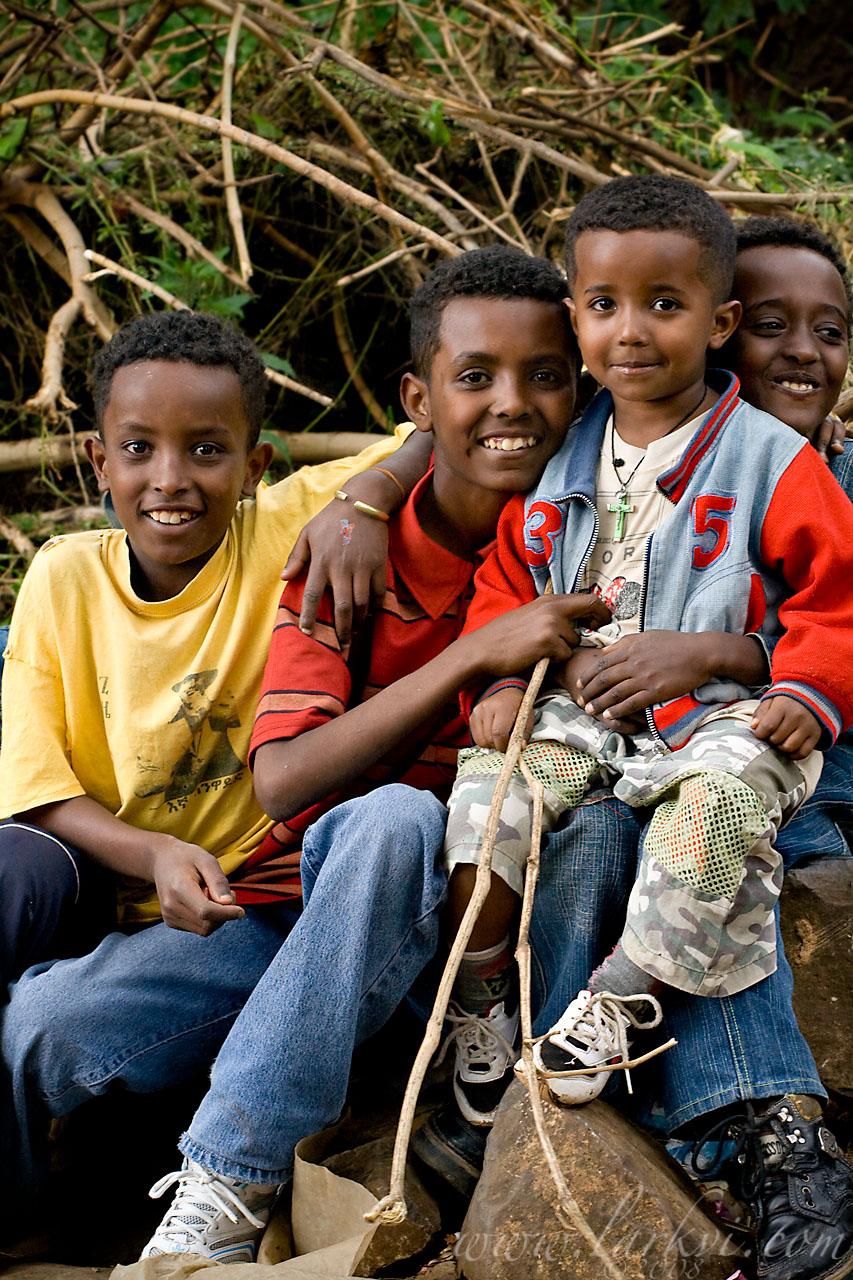 Boys, Addis Ababa, Ethiopia, November 2008