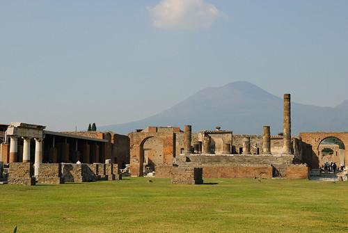 Scavi di Pompei e Vesuvio.