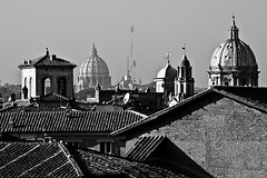 Rooftops of Rome by Justin Korn