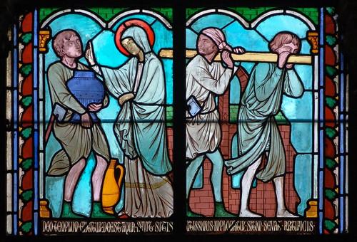 015- Vitral nº 15 claustro de Notre Dame de Paris