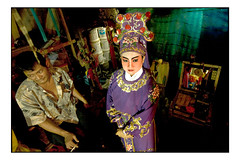 The Chinese opera (fly) Tags: thailand opera asia bangkok traditional chinese makeup actor fly simonkolton