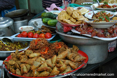 Burmese Street Food Display