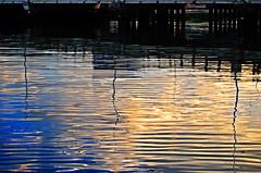 Water Under The Bridge  (maraculio) Tags: morning bridge reflection art water one bay boulevard under sm esplanade manila moa roxas artphoto the jarsofclay  mallofasia aplusphoto  maraculio