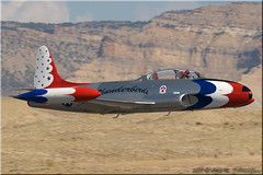 Lockheed T-33 Shooting Star - T-33 Aviation LLC (N514RH) (One Mile High Photography) Tags: airplane sigma airshow allrightsreserved planespotting militaryaircraft grandjunctionco nikond200 kgjt aviationphotography airshowphotography militaryfighteraircraft coloradophotographer grandjunctionregionalairport lockheedt33shootingstar sigmaapo120400mmf4556dgoshsm adobephotoshopelements70 airshowwesterncolorado2008 t33aviationllc coloradoshooter onemilehighphotography wwwomhphotoscom 2013louisdepaemelaere