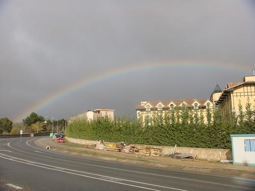 Arco Iris sobre Laguardia