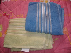 lindas toalhas de rosto