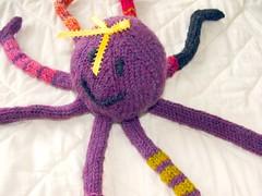 Socktopus V (teach me to hope) Tags: toys knit knitty socktopus