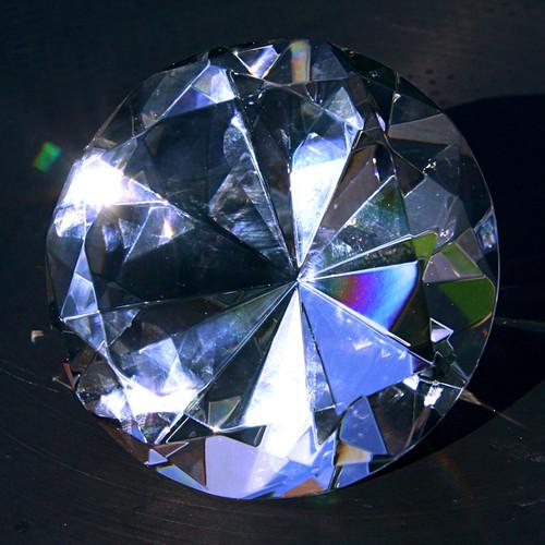Diamond Paperweight 8-24-09 1
